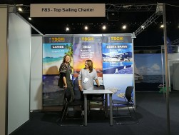 Top Sailing Charter expone en el International Charter Expo 2017
