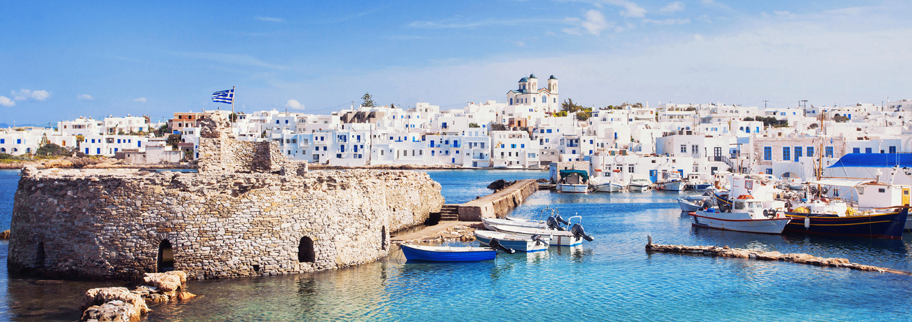 Yacht charter in Cyclades Island