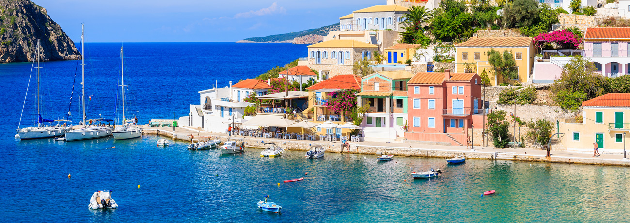 Yacht charter in Greece - Ionian Island