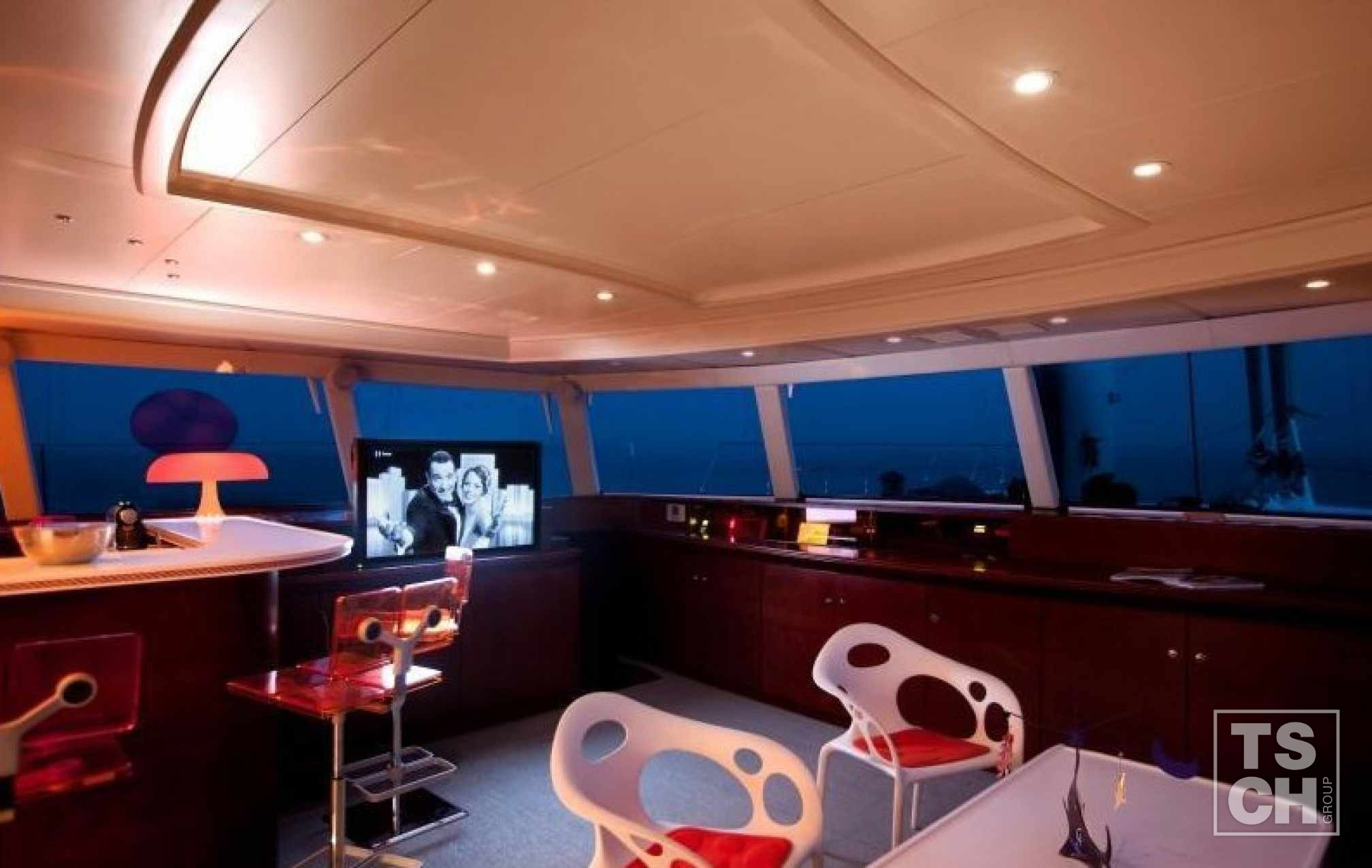 MAITA'I Luxury Catamaran Saloon