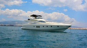 Azimut 68 'LOULOU' in Greece