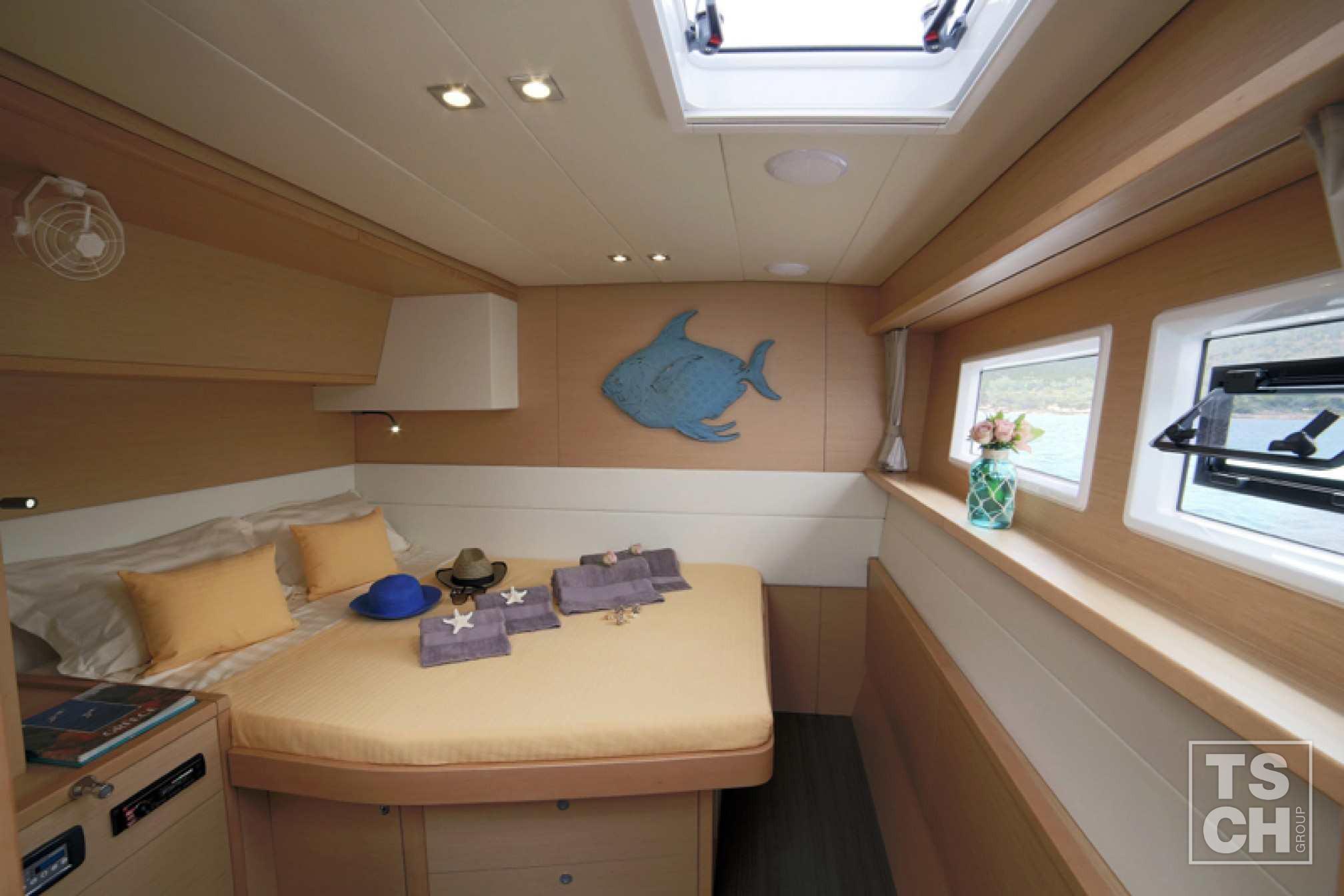 Catamarán de alquiler Lagoon 52 F cabina