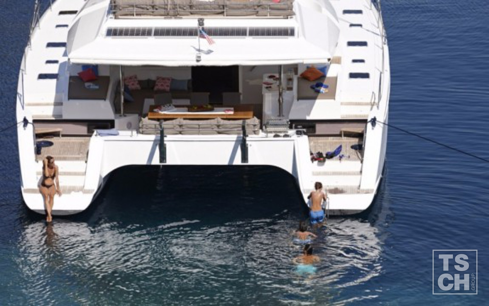 Catamaran de location Ipanema 58 ancre