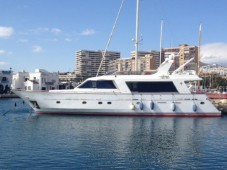 "Monty Nautic 77' ""ALLERGO"" in Spain"