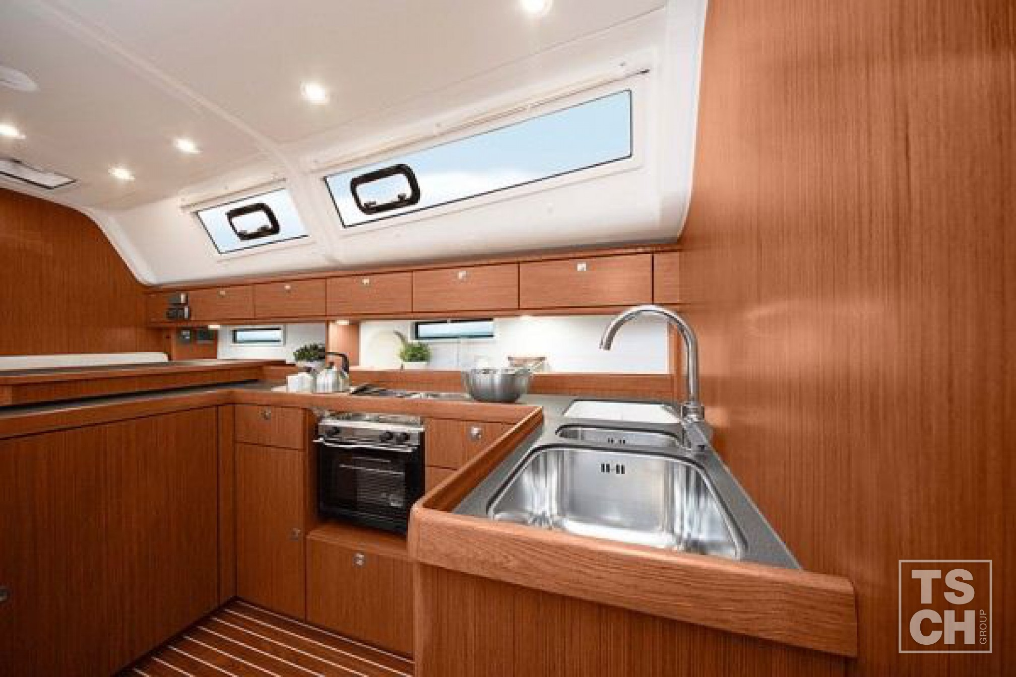 Bavaria 51 cruiser new kitchen