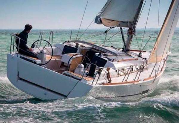 Dufour 412 GL rent charter sailing